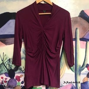 Ann Taylor 3/4 length sleeve top
